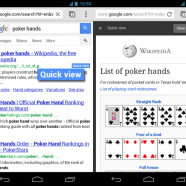 Quick View, νέα λειτουργία για κινητά από την Google